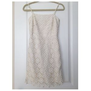 Trina Turk Lace Above The Knee Cocktail Dress
